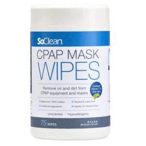 SoClean CPAP Mask Wipes