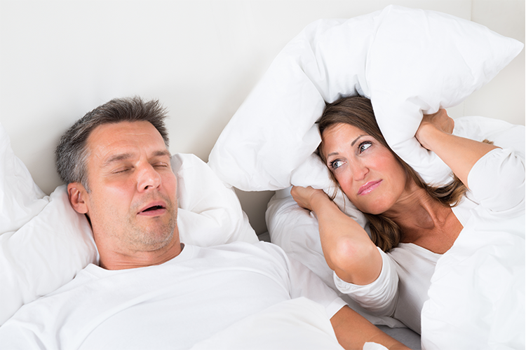Choking in your sleep